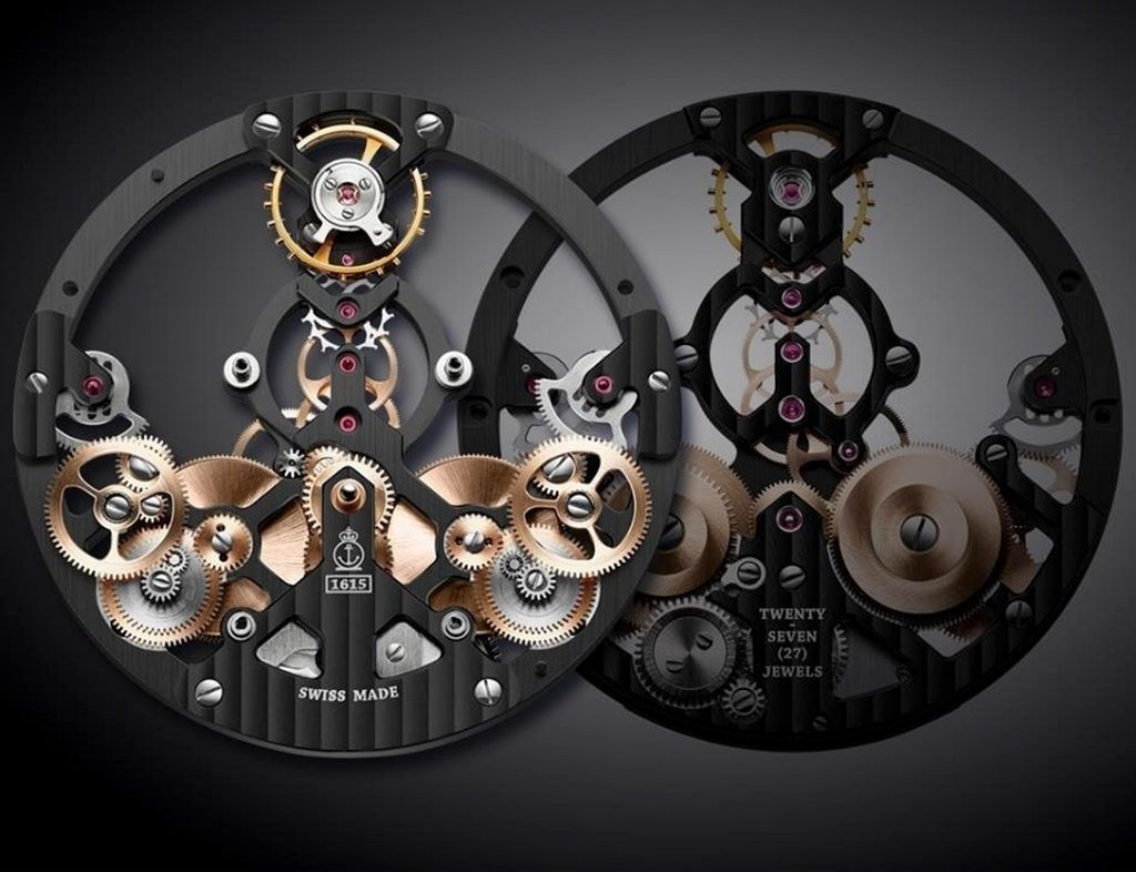 Arnold & Son The Time Pyramid Black Edition