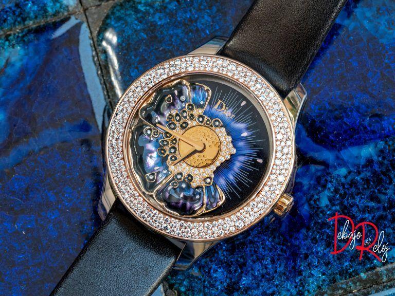 DIOR GRAND BAL MISS DIOR BLUE colección relojes 2018