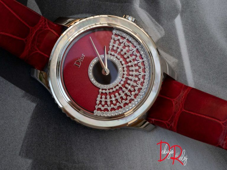 DIOR GRAND BAL RÉSILLE ROUGE colección relojes 2018