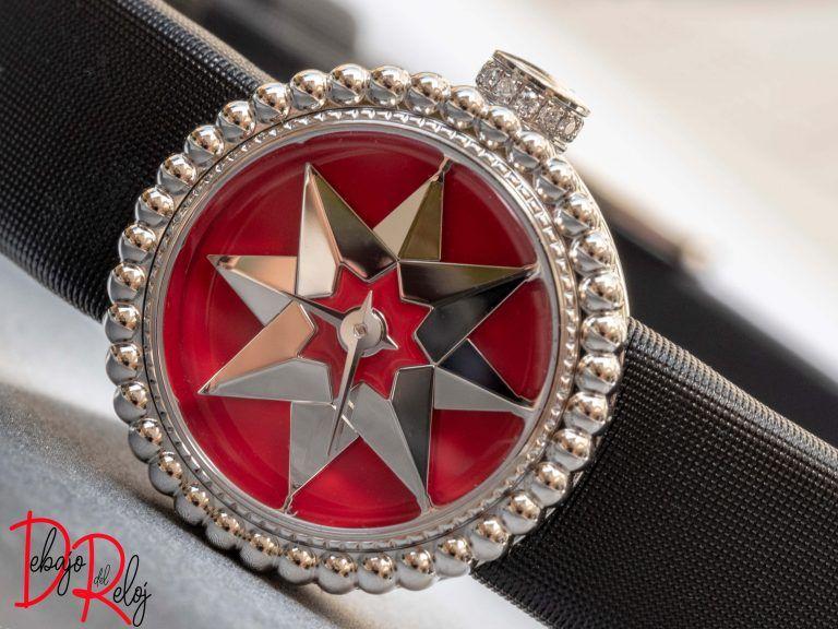 LA MINI D DE DIOR ROSE DES VENTS colección relojes 2018