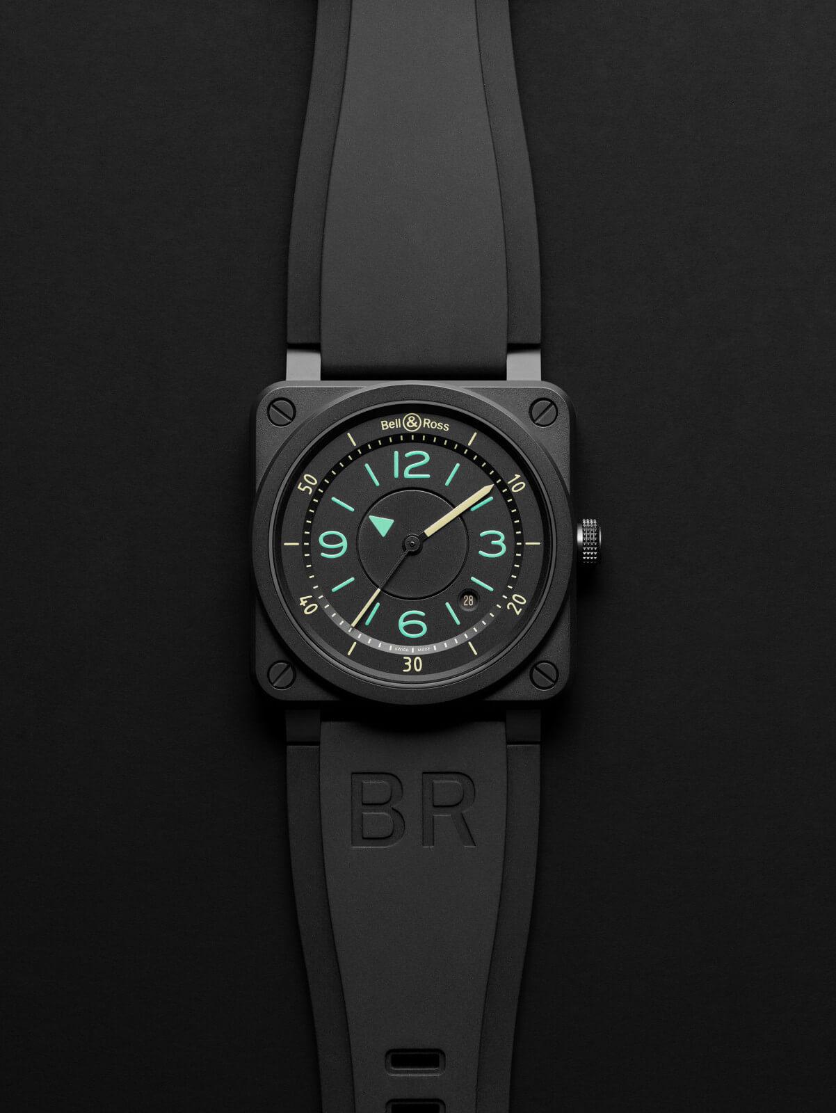 BR03-92 Bi-Compass bell&ross