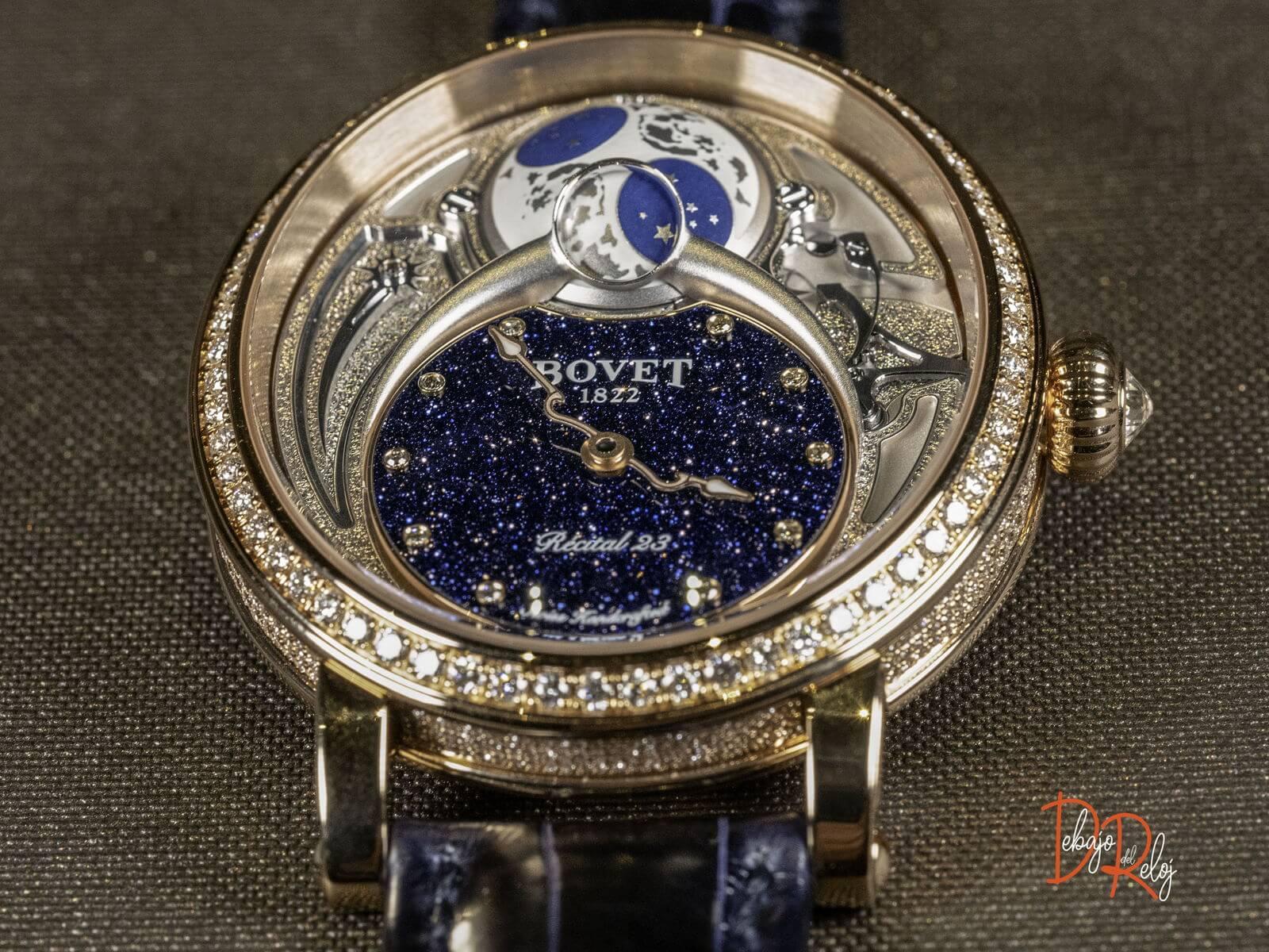 Bovet 1822 Recital 23 Fase Lunar cobra
