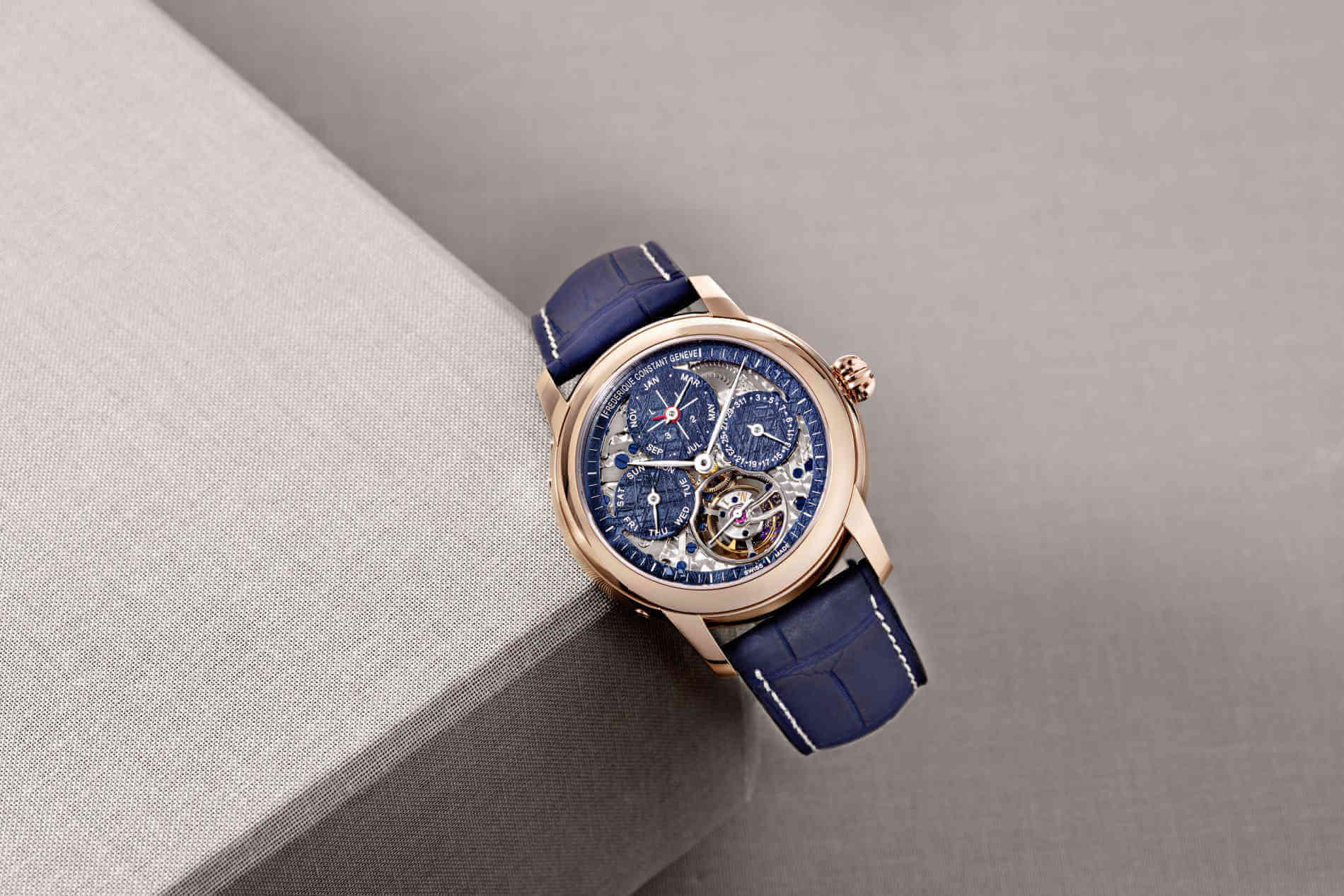 Frederique Constant Meteorite Tourbillon Perpetual Calendar Manufacture only watch