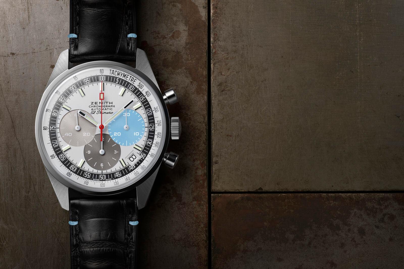 Zenith El Primero A386 Revival Only Watch debajo del reloj
