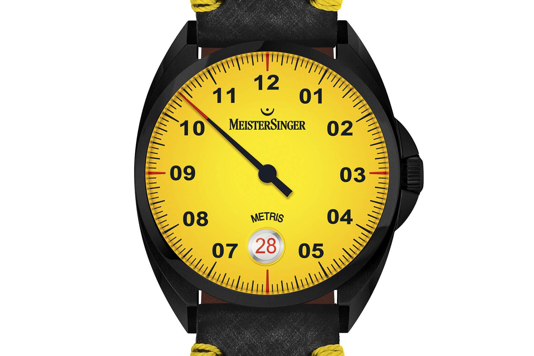 MeisterSinger Metris Yellow portada