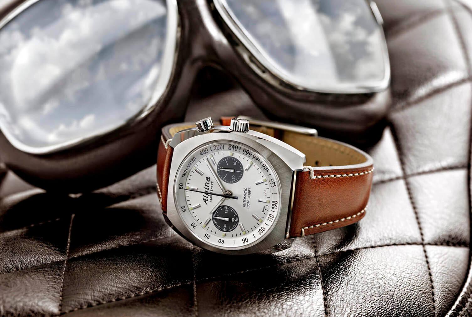 Alpina Startimer Pilot Heritage Chronograph portada