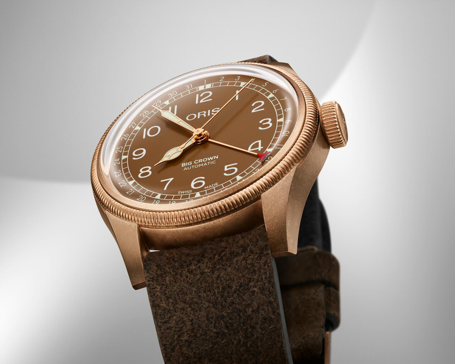 Oris Big Crown Bronze Pointer Date inc