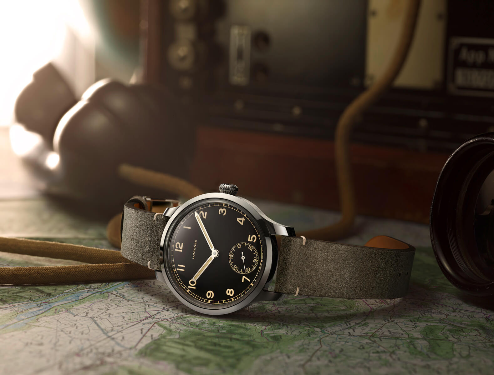 The Longines Heritage Military 1938 PR1