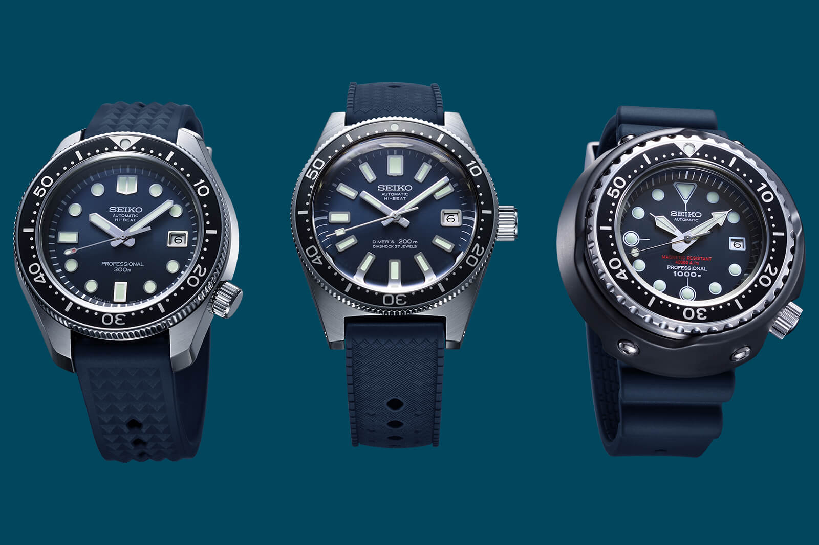 Seiko Diver's Watch 55th Anniversary Limited Editions portada