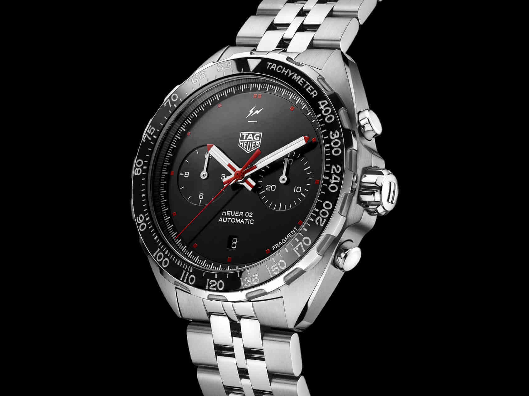 Tag Heuer x Fragment Design Heuer front 1