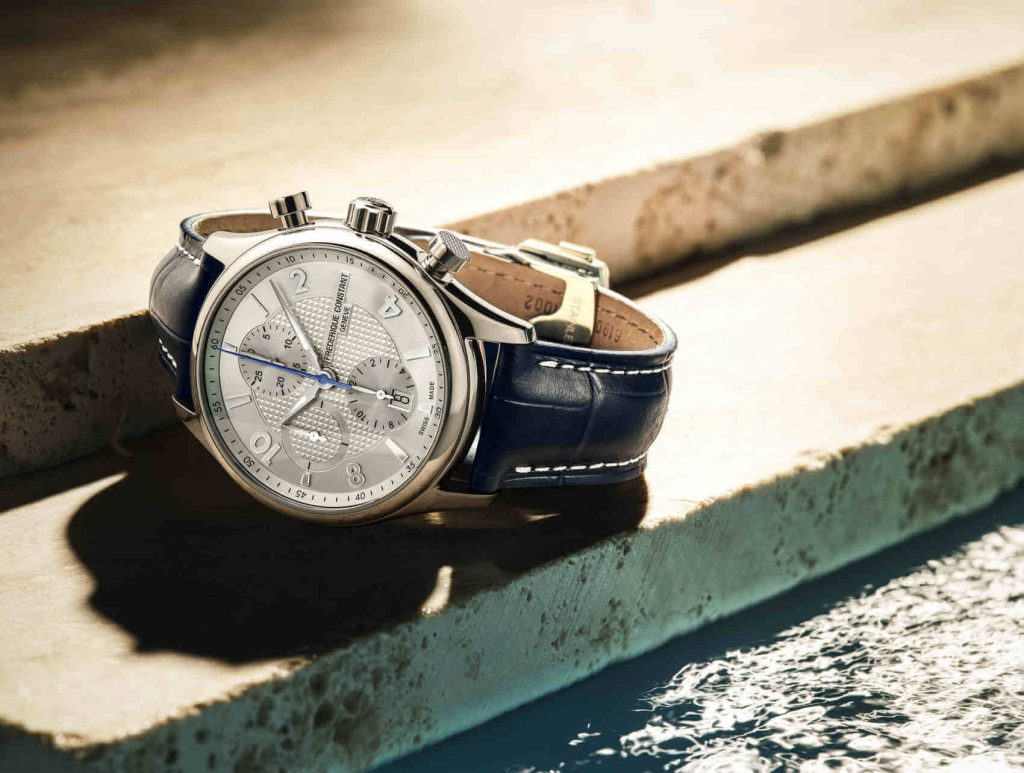 Frederique Constant Runabout RHS Chronograph Automatic blanco beauty