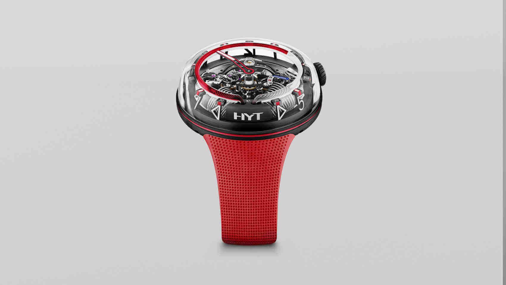 Hyt H20 Nuevo Reloj Hidromecánico portada