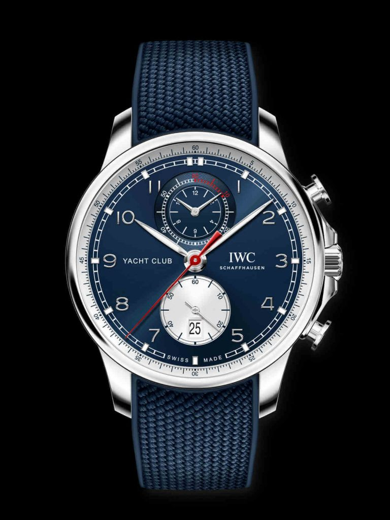 Iwc Portugieser Yacht Club Chronograph Edition Orlebar Brown front
