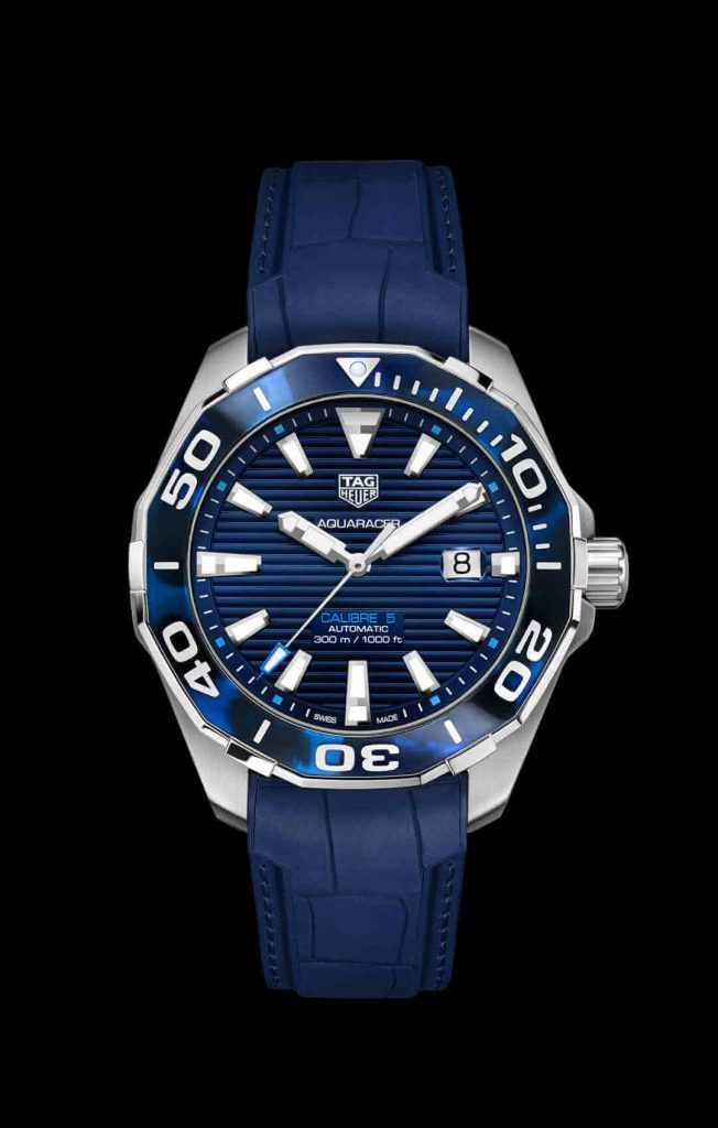 Tag Heuer Aquaracer Tortoise Shell front azul