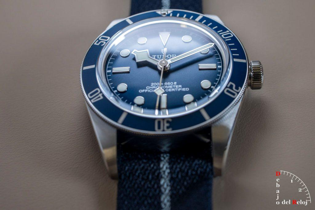 "Tudor Black Bay Fifty-Eight Azul ""Navy Blue"" cobra"