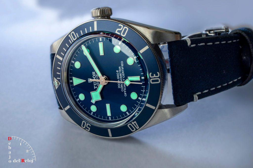 "Tudor Black Bay Fifty-Eight Azul ""Navy Blue"" lumen"