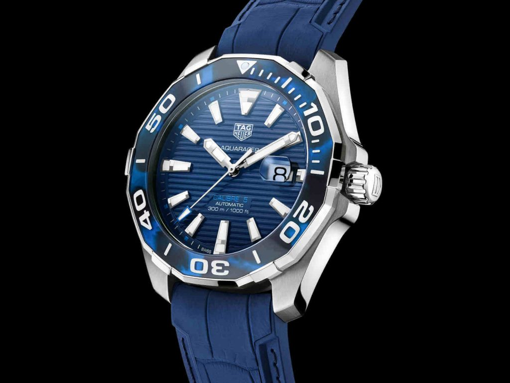Tag Heuer Aquaracer Tortoise Shell front lado 3