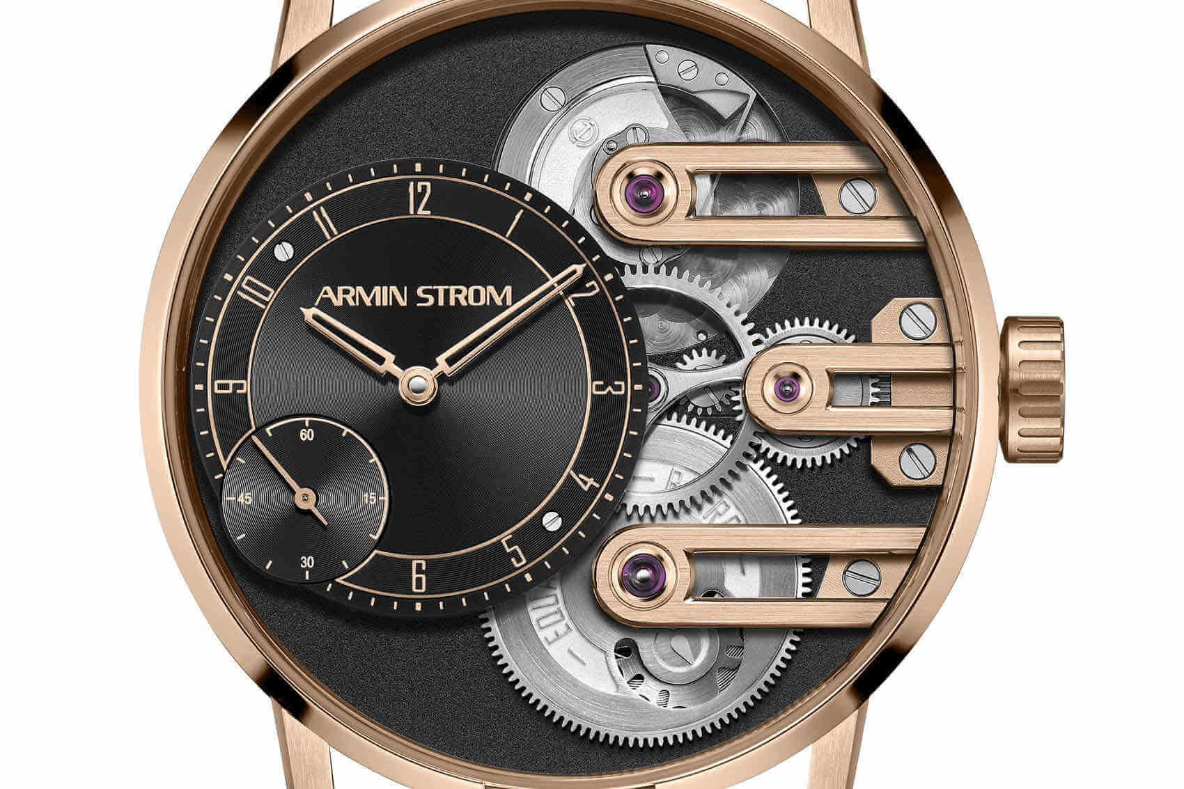 Armin Strom Gravity Equal Force Oro Rosa portada