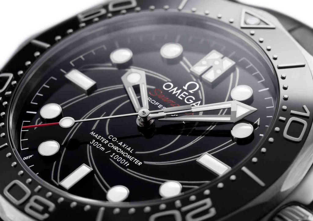 Omega Seamaster Diver 300M James Bond Platinum Gold DIAL