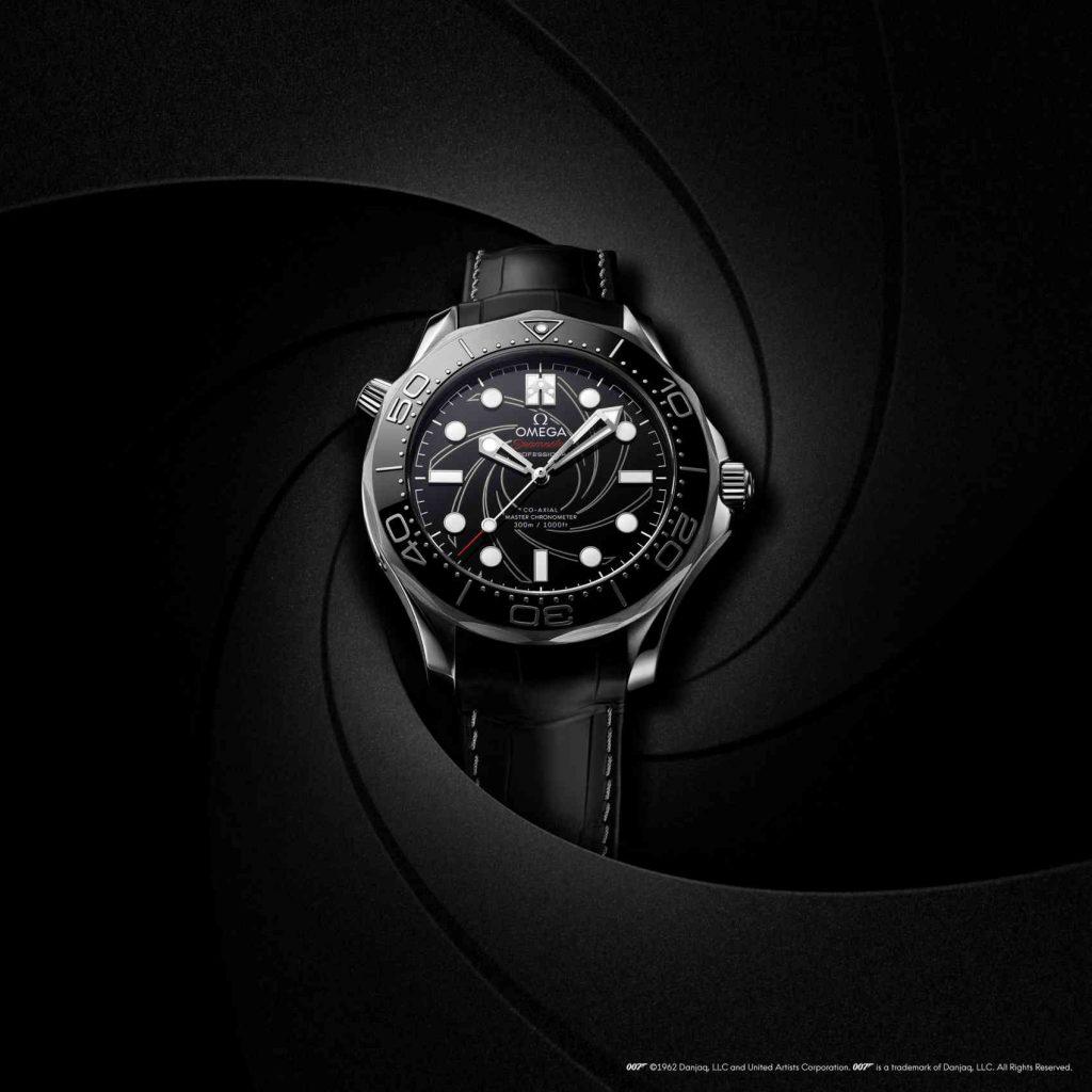 Omega Seamaster Diver 300M James Bond Platinum Gold FRONT