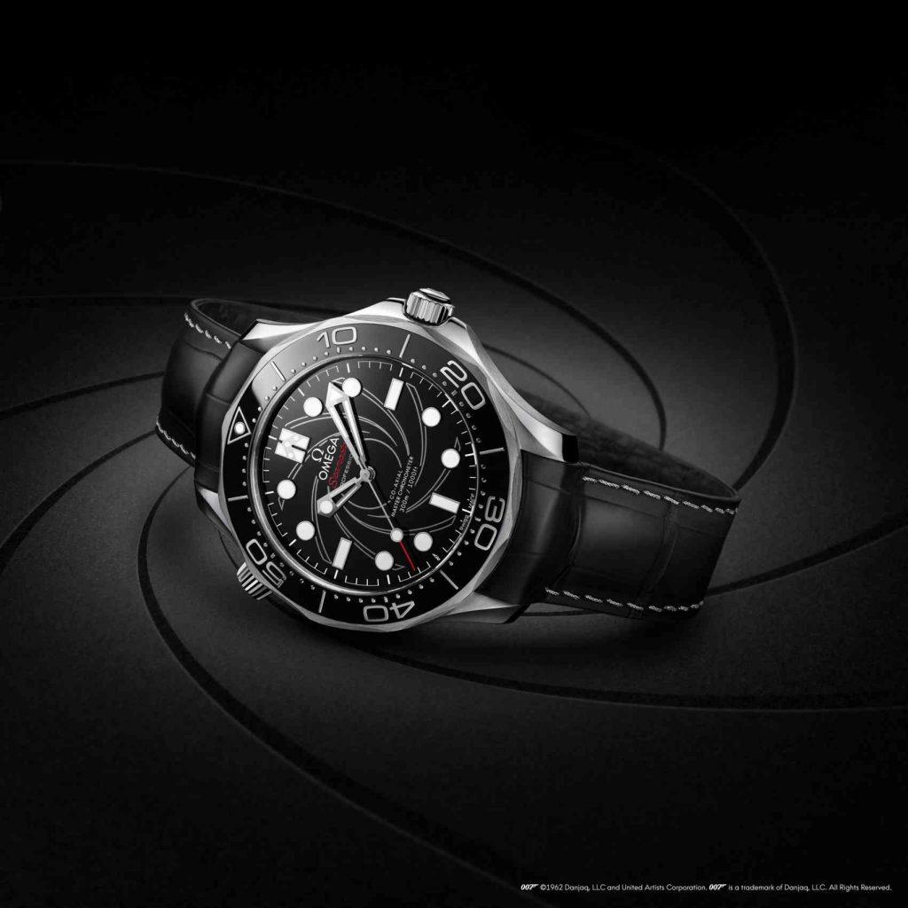 Omega Seamaster Diver 300M James Bond Platinum Gold GENE NEGRO
