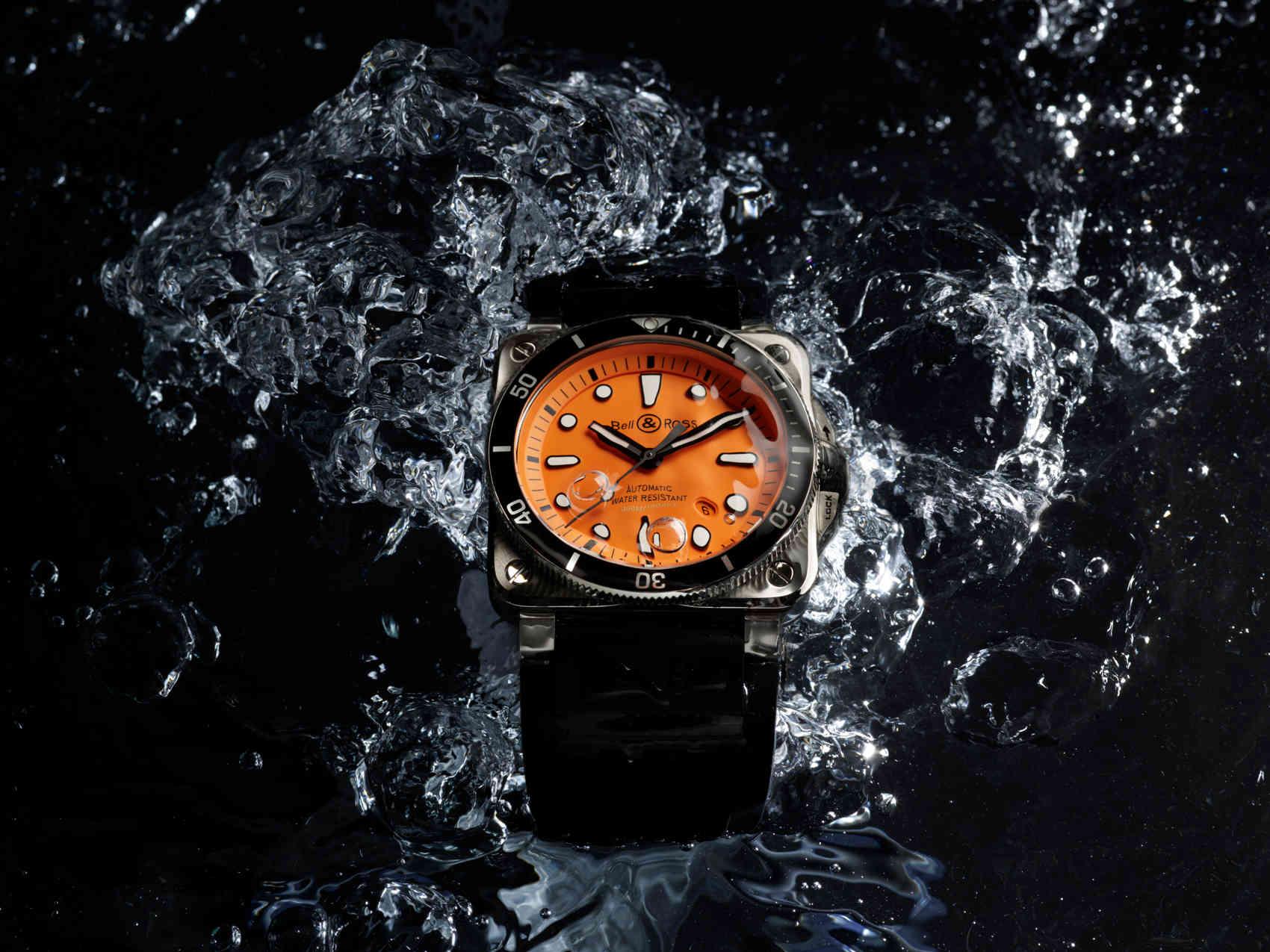 Bell & Ross BR 03-92 Diver Orange 3