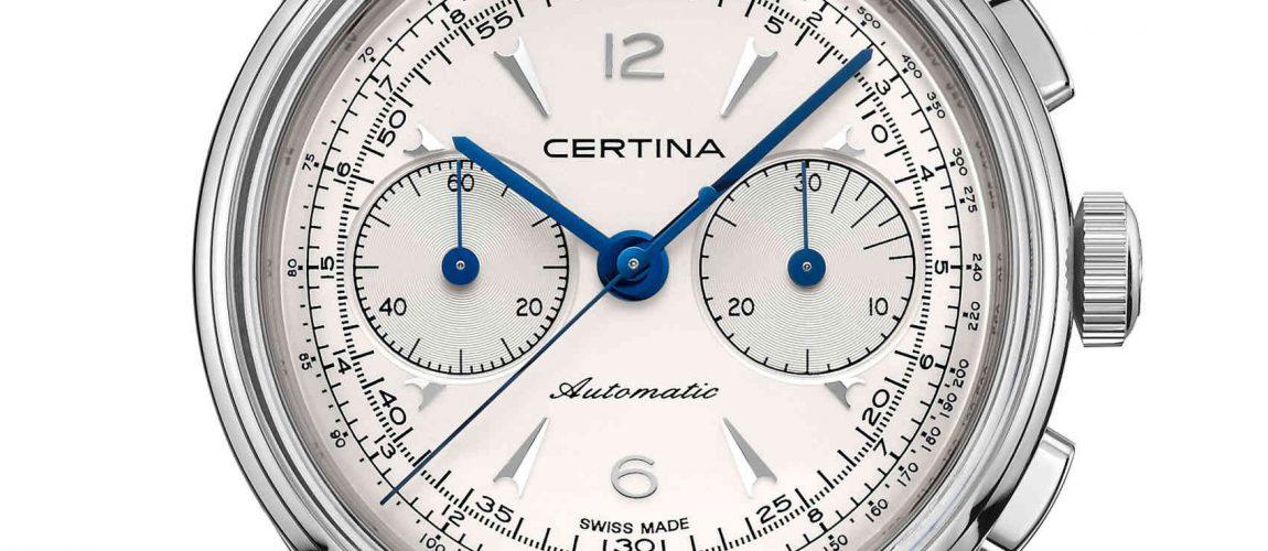 Certina DS Chronograph Automatic Estilo Clásico