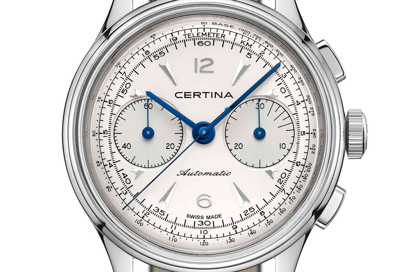 Certina DS Chronograph Automatic deta
