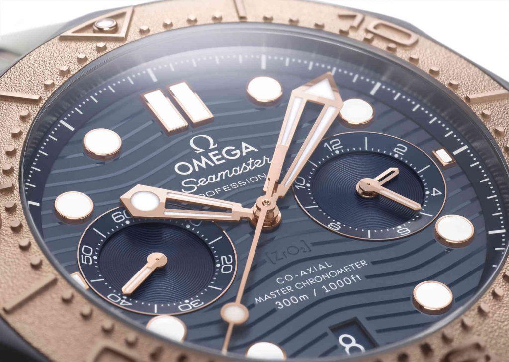 Omega Seamaster Diver 300M Chronograph esfera