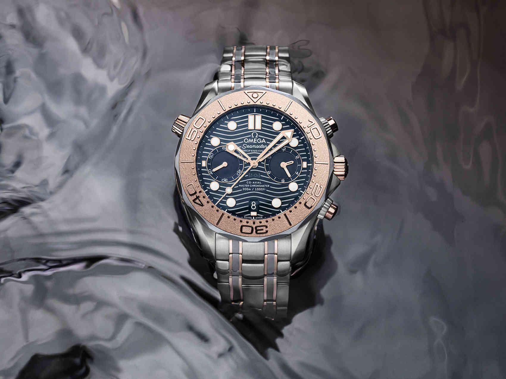 Omega Seamaster Diver 300M Chronograph portada