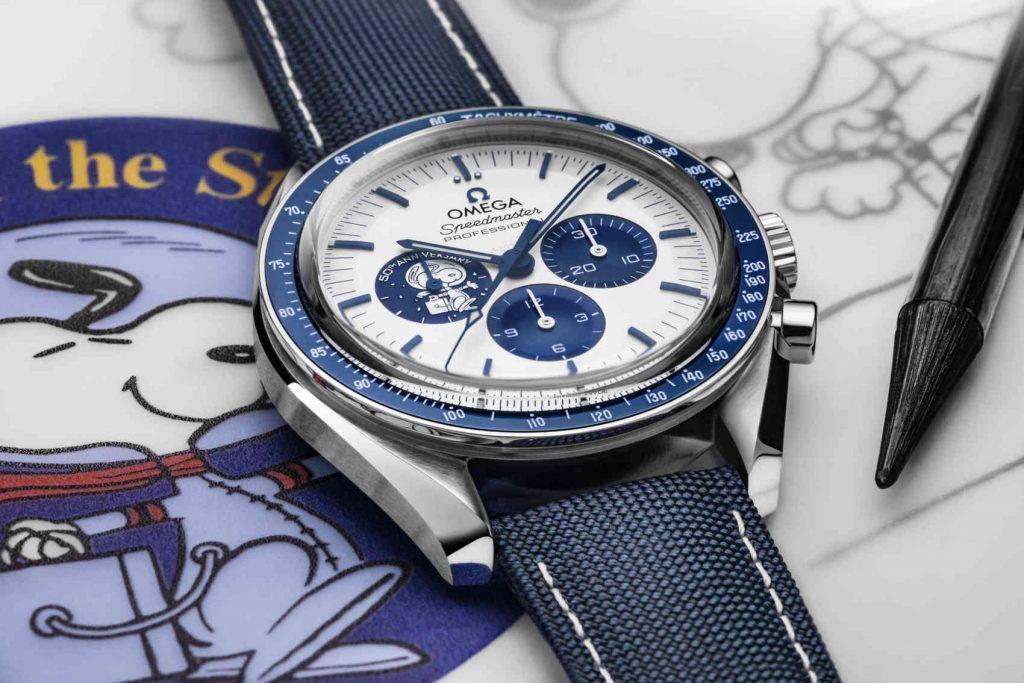 "Omega Speedmaster ""Silver Snoopy Award"" 50th Anniversary cobra"