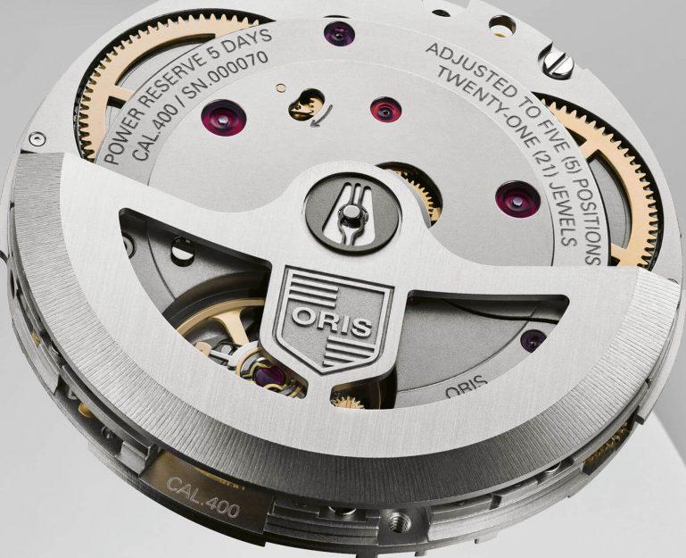 Oris Calibre 400 Su Nuevo Movimiento Manufactura