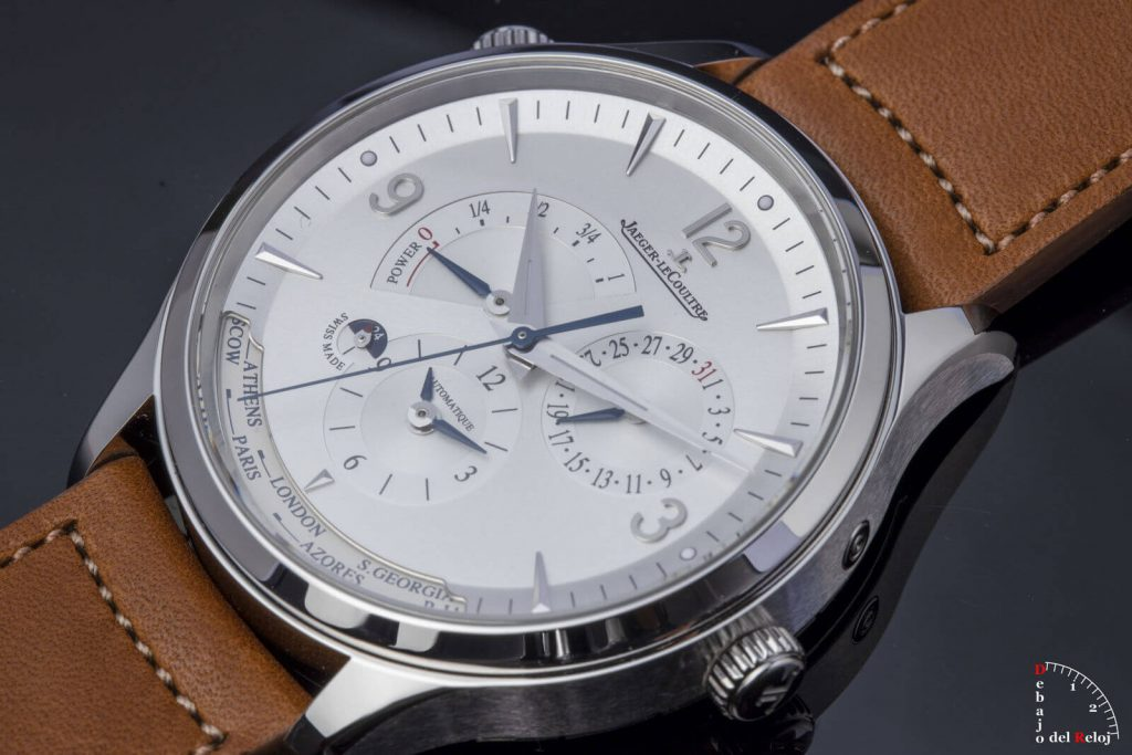 Jaeger-LeCoultre Master Control Geographic esfera