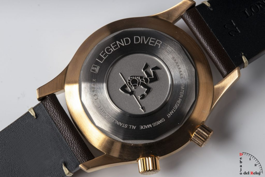 Longines Legend Diver Watch Bronce 17
