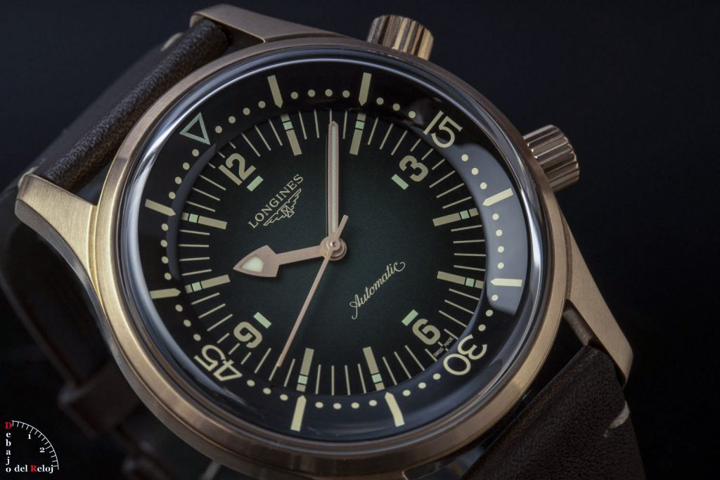 Longines Legend Diver Watch Bronce 44
