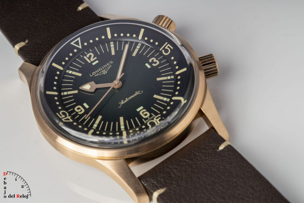Longines Legend Diver Watch Bronce 8