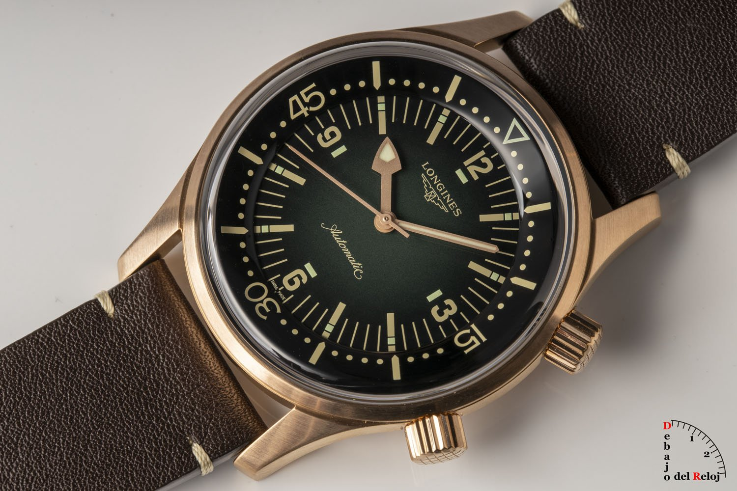 Longines Legend Diver Watch Bronce 6