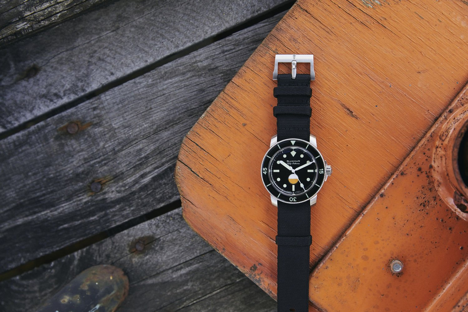 Blancpain Fifty Fathoms MIL-SPEC Edición Limitada