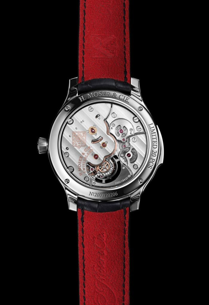 H. Moser & Cie. Endeavour Concept Minute Repeater Tourbillon back
