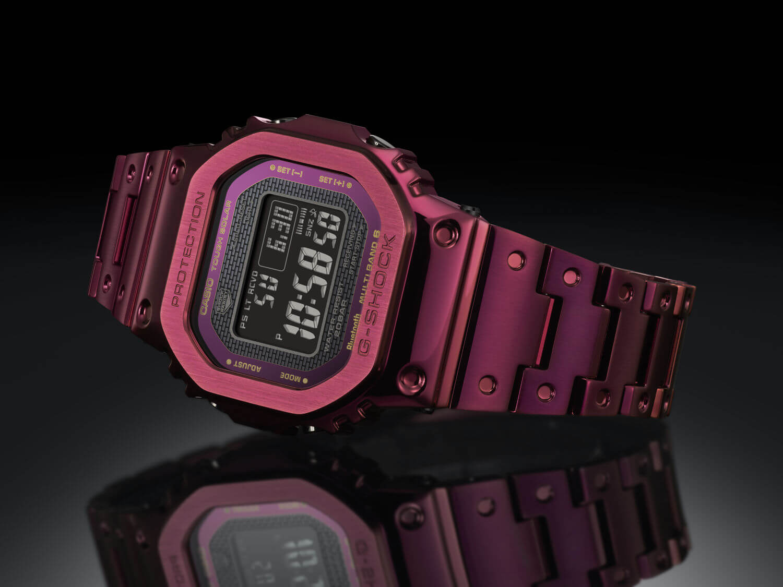 G-Shock GMWB5000RD-4ER Rojo Rubí portada