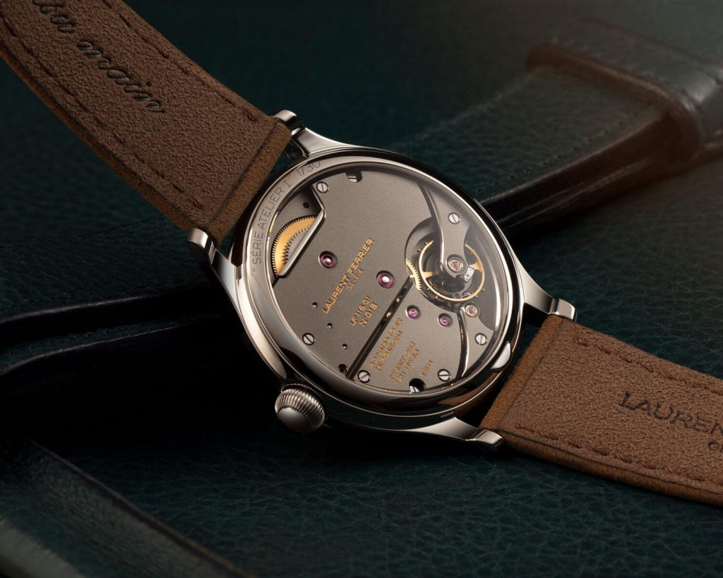 Laurent Ferrier Classic Origin Green back lado