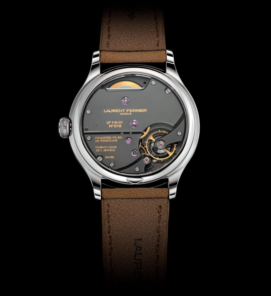 Laurent Ferrier Classic Origin Green back