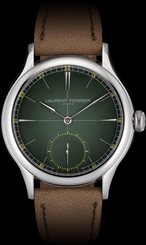 Laurent Ferrier Classic Origin Green front