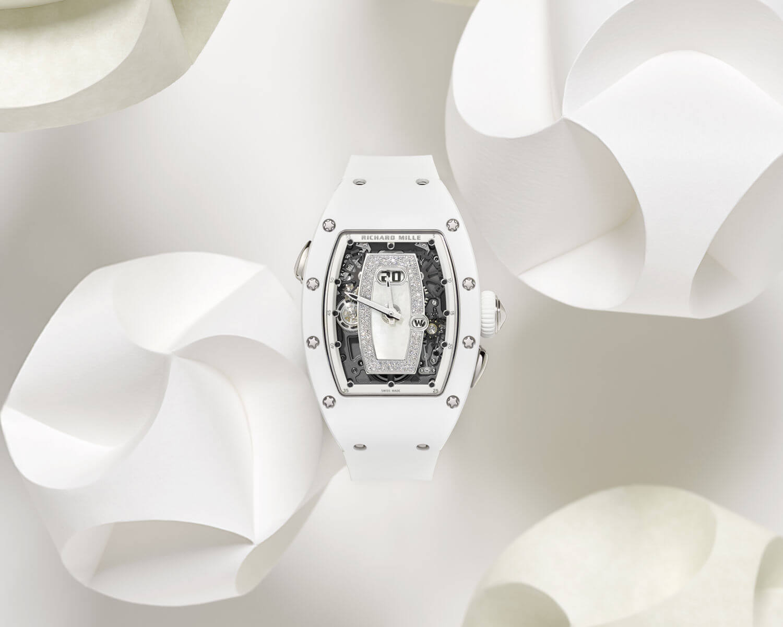 Richard Mille RM 037 Cerámica Blanca portada