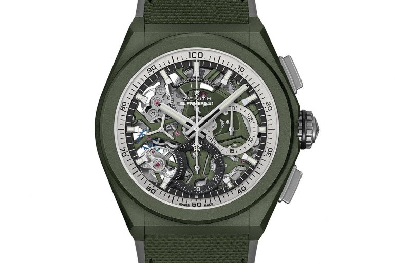 Zenith Defy 21 Urban Jungle LVMH Watch Week 2021