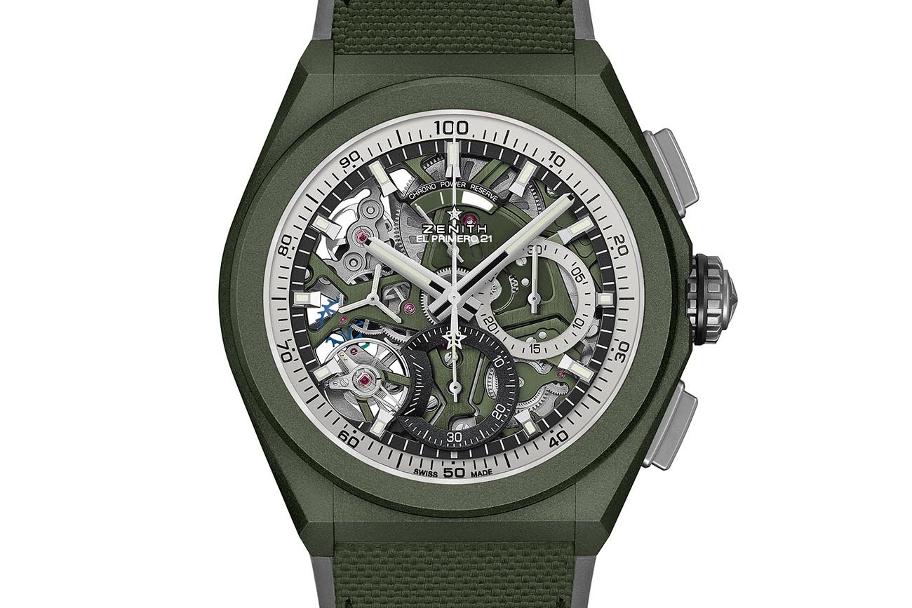 Zenith Defy 21 Urban Jungle face short