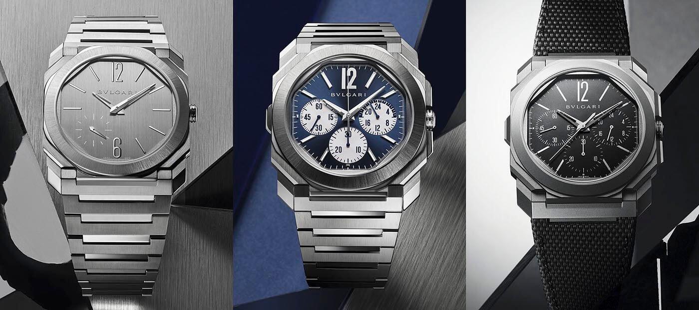 Bulgari Octo Finissimo 2021 (Octo Finissimo S, Octo Finissimo S Chronograph GMT y Octo Finissimo Chronograph GMT Titanium)