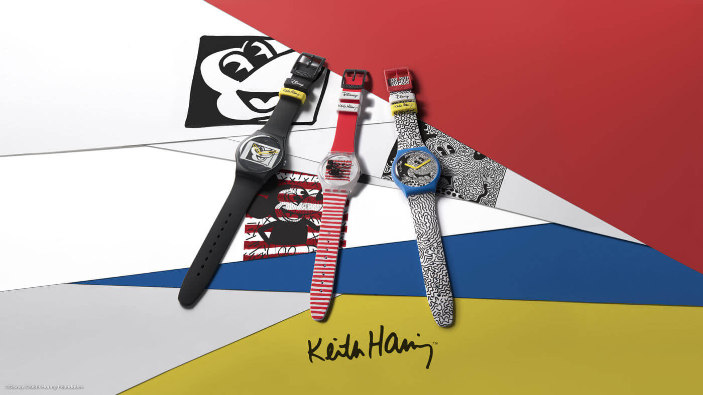Swatch Disney Mickey Mouse X Keith Haring