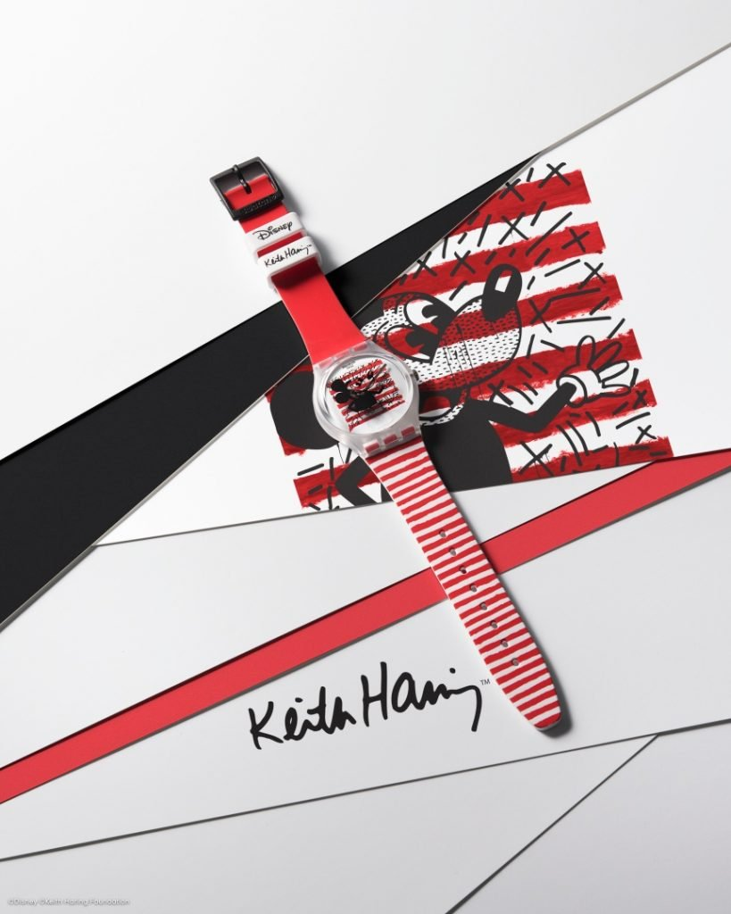 Swatch Disney Mickey Mouse X Keith Haring MOUSE MARINIÈRE