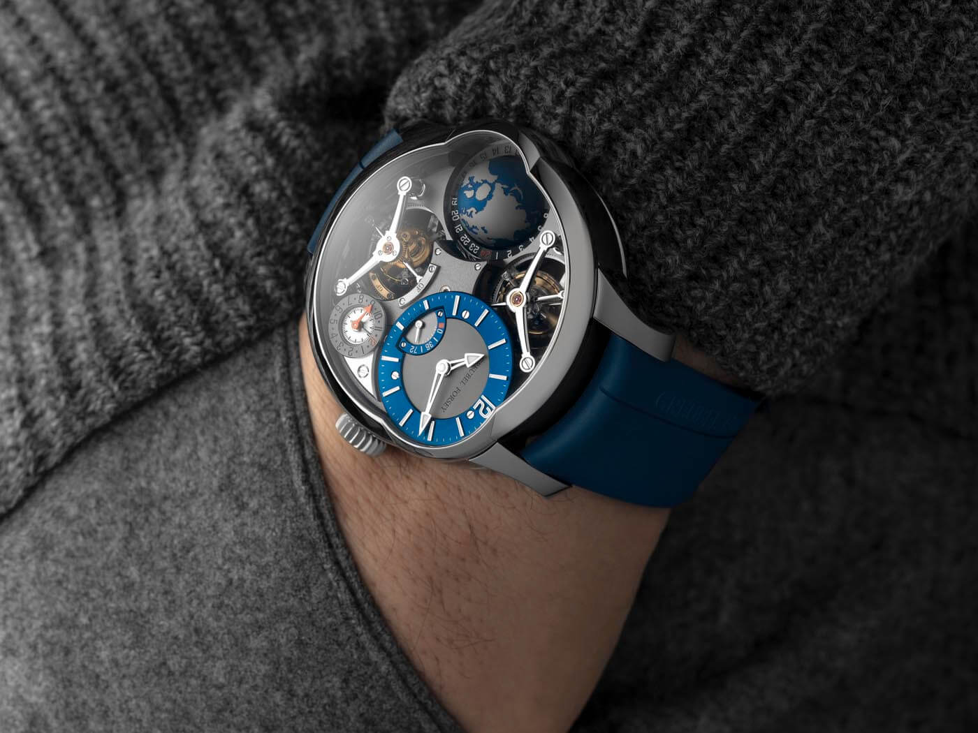 Greubel Forsey Gmt Quadruple Tourbillon Titanio 3